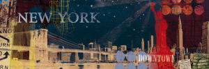 New York Streets by Tom Frazier