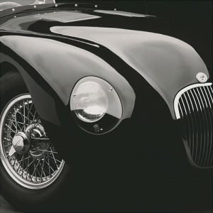 Jaguar C-Type (medium) by Retro Series