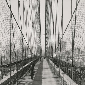 The Brooklyn Bridge, Sunday PM by The Chelsea Collection