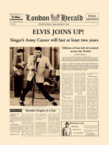 Elvis Joins Up! by London Herald
