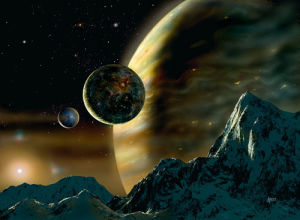 Exoplanet by David Hardy