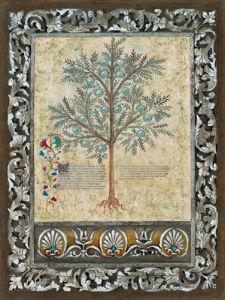 Fresco Botanica II by Jen Kirstein