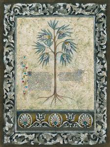Fresco Botanica IV by Jen Kirstein