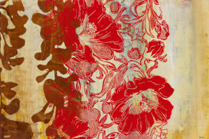 Silkscreen Floral by Bridges