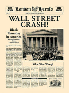 Wall Street Crash! by London Herald