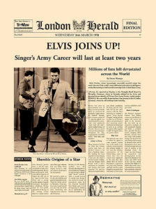 Elvis Joins Up! (large) by London Herald