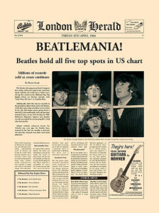 Beatlemania! (large) by London Herald