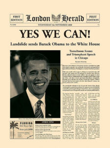 Yes We Can! by London Herald