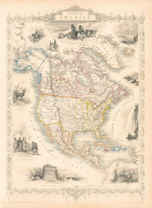 North America by John Tallis
