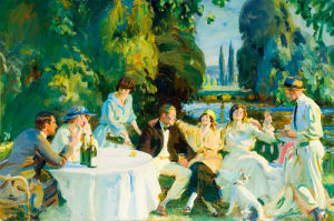 Tagg's Island by Sir Alfred Munnings