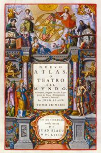 Nuevo Atlas o Teatro del Mundo 1659 by Willem Janszoon Blaeu