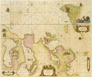 Totius Europae Littora 1715 by Louis Renard