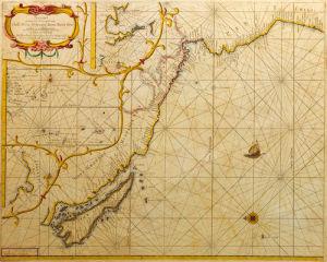 Chili Peru Hispania Nova Nova Grenada en California 1659 by Hendrick Doncker