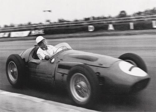 Stirling Moss, Maserati 250 F, 1956 by Alan Smith