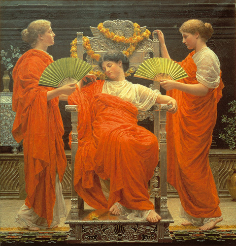 Midsummer by Albert Moore