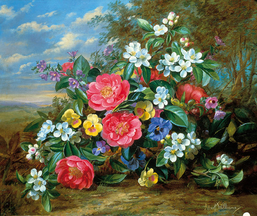 Florals I by Albert Williams