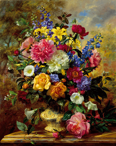 Summer Floral I by Albert Williams