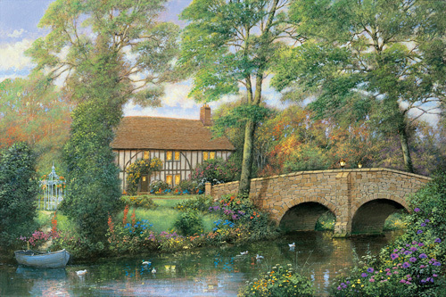 River Cottage by Alexander Sheridan