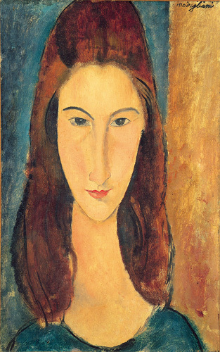Jeanne Hebuterne by Amedeo Modigliani