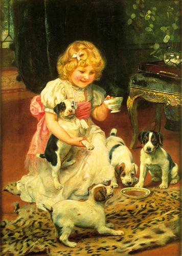 Tea-Time by Arthur Elsley