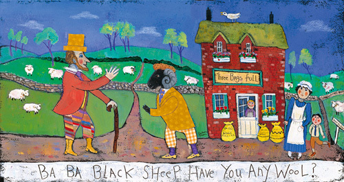 Baa Baa Black Sheep by Barbara Olsen