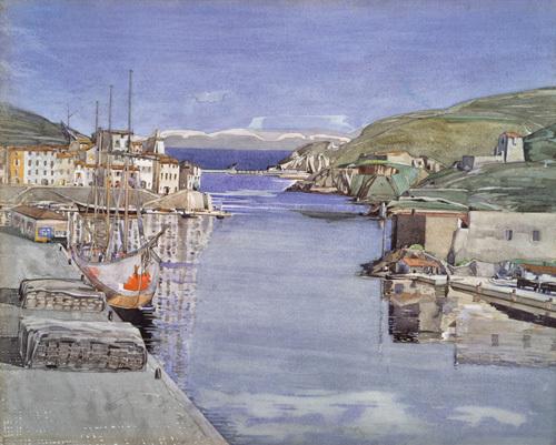 A Southern Port by Charles Rennie Mackintosh