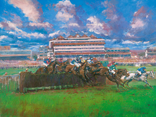 Hennessy Gold Cup by Claire Eva Burton