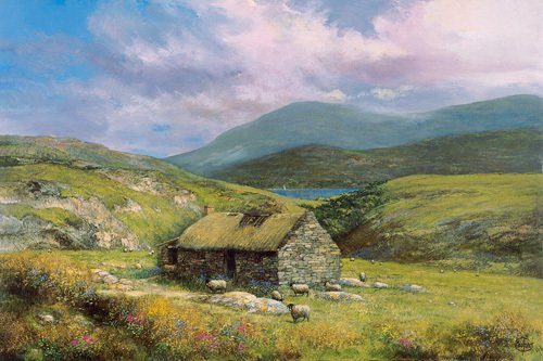 Cottage near Conor Pass by Clive Madgwick