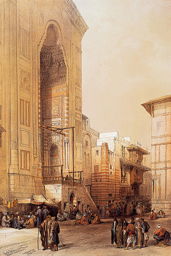 Mosque of Sultan Hassan by David Roberts