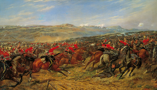 Charge of the Heavy Brigade by G.D. Giles