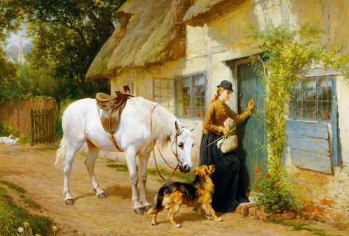 The Visitor by George Augustus Holmes