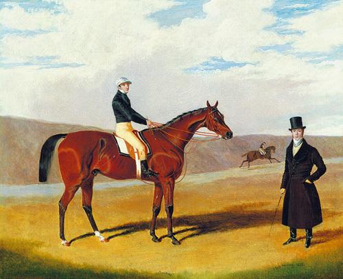 Pontefract by John Frederick Herring