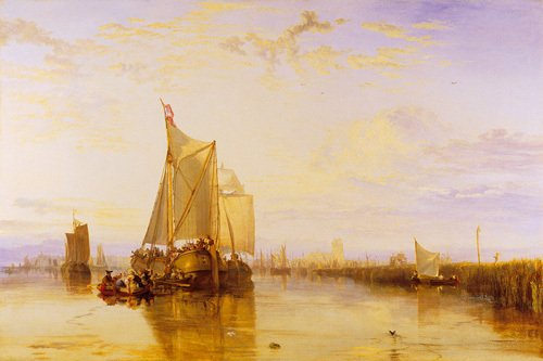 The Dort Packet-Boat from Rotterdam by Joseph Mallord William Turner