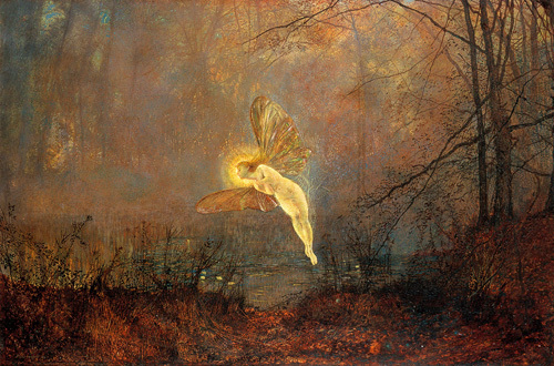 Midsummer Night, 1876 by John Atkinson Grimshaw