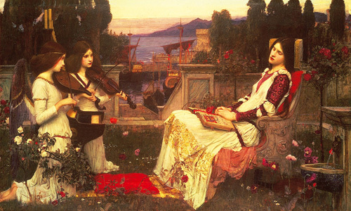 Saint Cecilia by John William Waterhouse