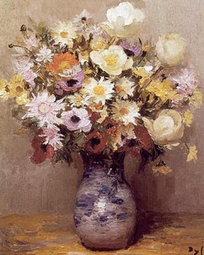 Fleurs I by Marcel Dyf