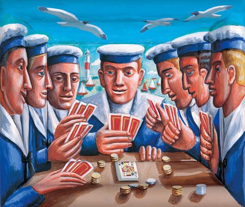 Deck Hands by P.J. Crook