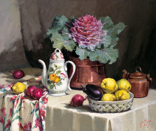 Still Life with Coffee Jug by Pat Moran