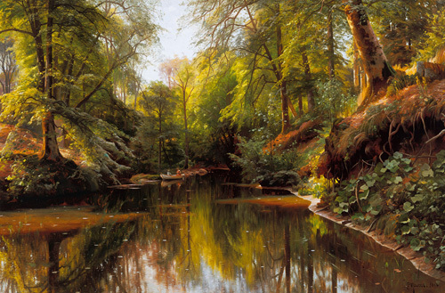 Out Boating - Saeby by Peder Monsted