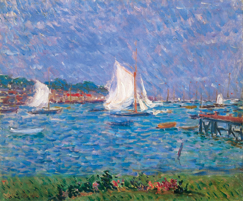 Summer at Cowes by Philip Wilson Steer