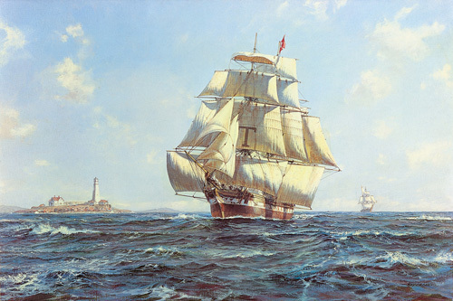 McKay Clipper 'Anglo American' by Roy Cross