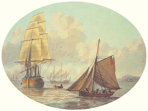 Coastal Shipping II by Samuel Atkins