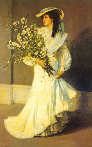 Spring by Sir John Everett Lavery