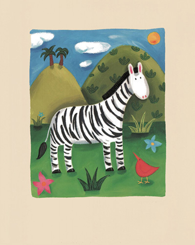 Zara the Zebra by Sophie Harding