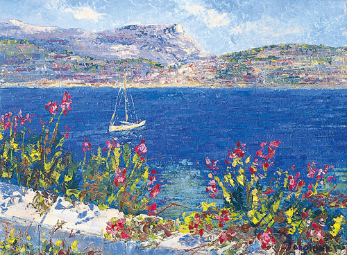 Villefranche Bay by Tania Forgione
