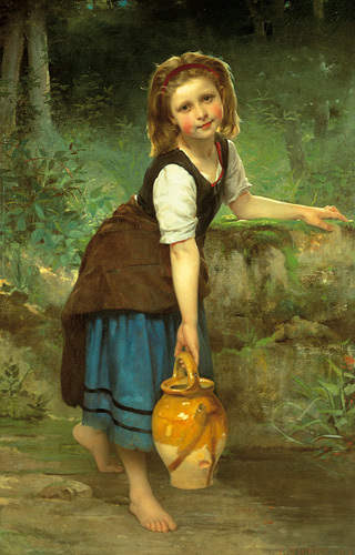 The Pitcher Girl by Charles Victor Thirion