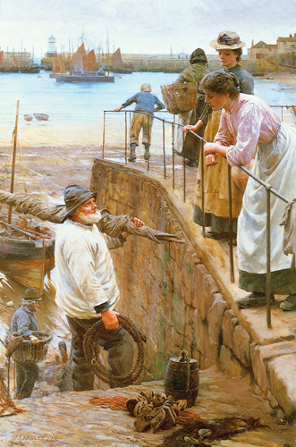 Between the Tides by Walter Langley
