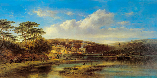 The Estuary by William Pitt