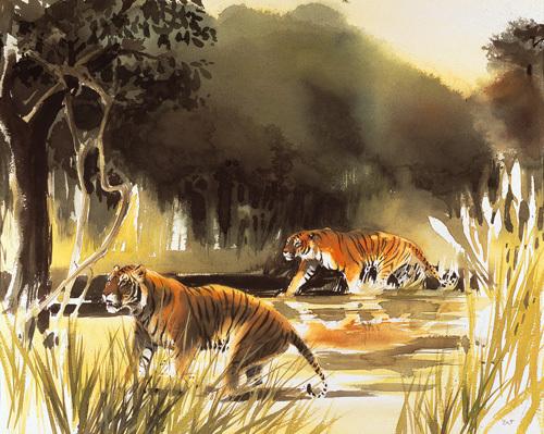 Jungle Patrol by Wolfgang Weber