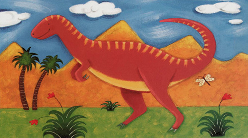 Izzy the Iguanodon by Sophie Harding